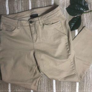 Lane Bryant Khaki skinny jeans Size 16